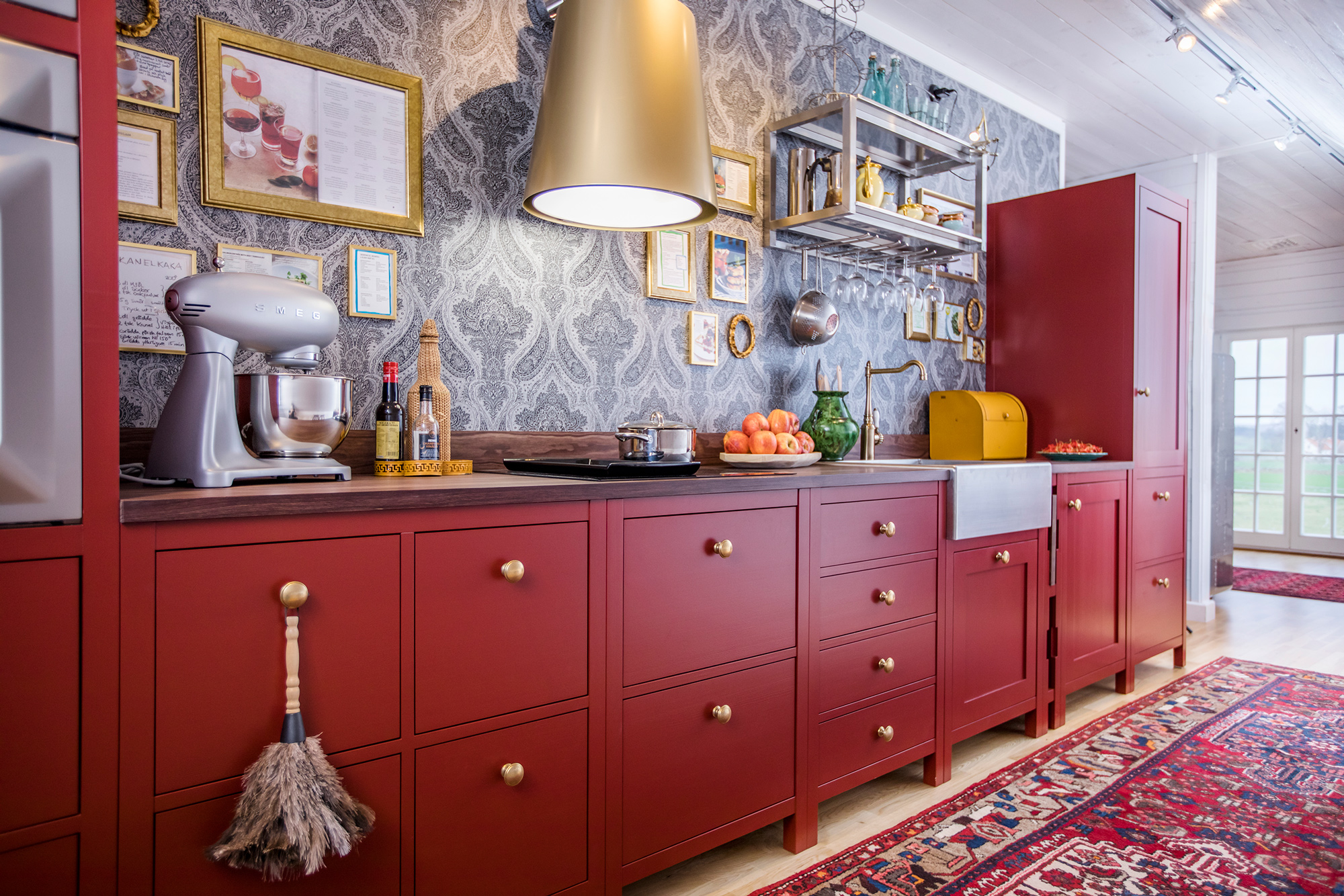 Ströö är ett kök där de olika modulerna inte är fast monterade i en vägg eller i varandra.