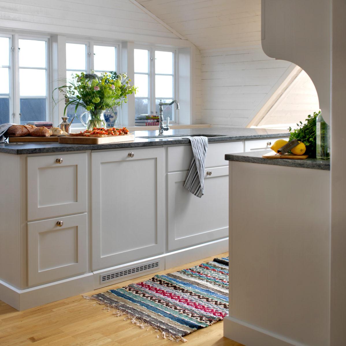 Med alla våra kök kan du själv fritt laborera med olika storlekar på skåp och luckor.
