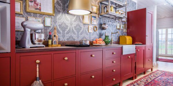 Ströö är ett kök där de olika modulerna inte ör fast monterade i en vägg eller i varandra.